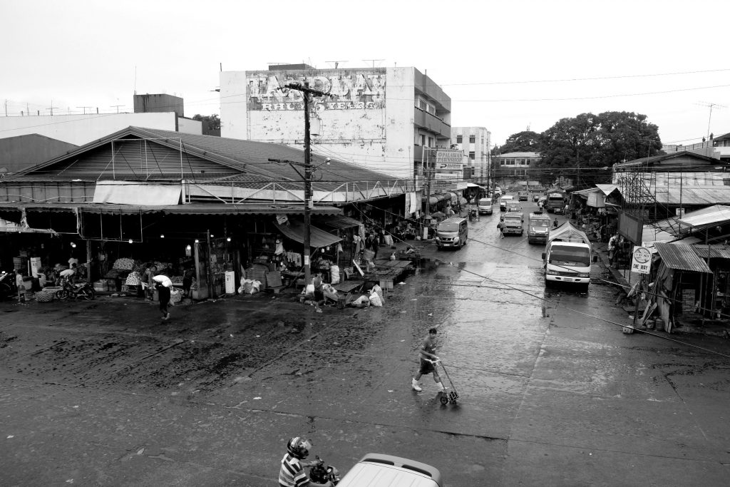 BACOLOD has three major wet and dry public markets - South or Libertad, North or Burgos, and Central - through which 12 streets pass through - Burgos, Galo, Daniel Ramos, Gonzaga, Luzuriaga, San Juan, Libertad or Hernaez, Amelia, Lopez Jaena, and Mabini. This is the juncture of Amelia and Lopez Jaena Streets, the southern spine of the Libertad Public Market. The portion of Amelia you can see used to be passable to only one vehicle as it was choked by vendors lining both sides of the road. |Photo by Lourdes Rae Antenor, text by Julius D. Mariveles