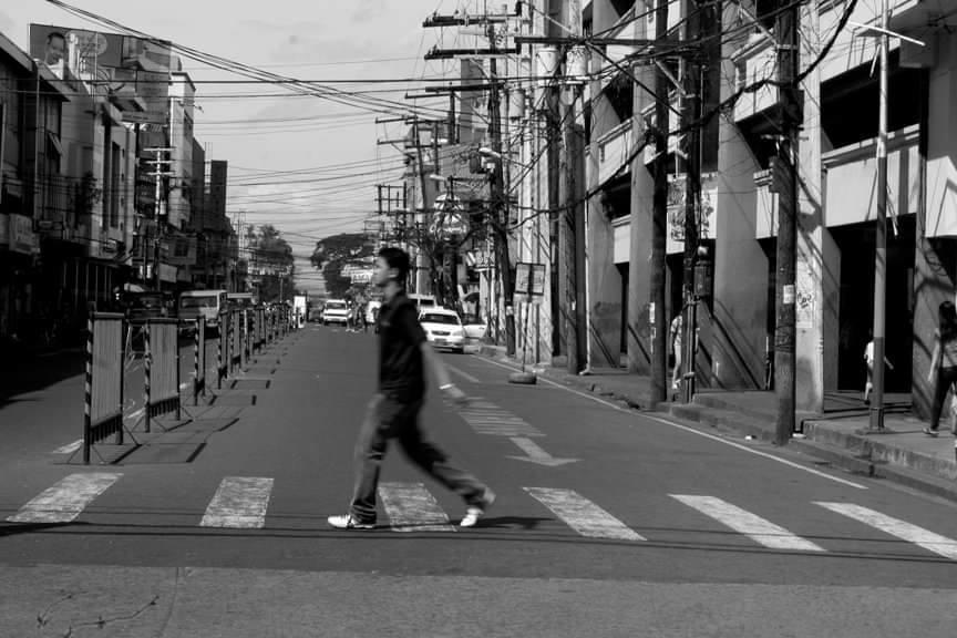 Araneta Street, morning peak hours, May 16, 2011 during a transport strike. | File photo by Julius D. Mariveles