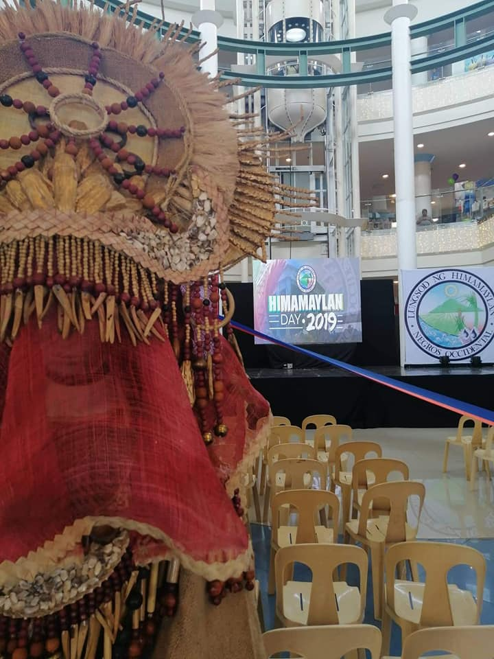 Stage is ready and set for the opening of Himamaylan Day. Photo and text by Jose Aaron Abinosa