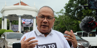 """Former Councilor Lyndon Caña explains to DNX why the bill is """"discriminatory"""", """"unConstitutional"""", and """"unnecessary"""". """"You cannot legislate feelings,"""" he says, as he points out that the bill will make the LGBTQ+ community into a """"elite super-class"""" with special privileges. Photo by Lourdes Rae Antenor"""