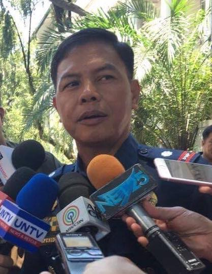 THE NEW CZAR IS COMING. Controversial police officer Lt. Col. Jovie Espenido, the new anti-drug czar dishes out advice to druglords. | PNA Photo
