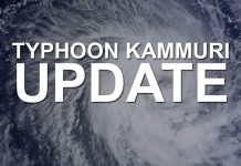 BREAKING: Typhoon Kamurri has entered the Philippine Area of Responsibility and is now codenamed Tisoy, the 20th storm to have hit the country in 2019. Local weather bureau PAGASA confirmed this just now and will issue more updates later.