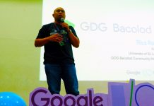 Google Dev Group community manager Rics Rojas during the I/O Extended 2019 Bacolod.