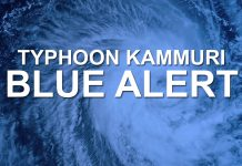 """BACOLOD CITY - City Hall has declared a """"blue alert"""" status here as Typhoon Kammuri moves closer to Philippine territory."""
