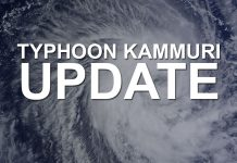 """BACOLOD CITY - The province of Negros Occidental is placed on """"blue alert"""" status as Typhoon Kammuri nears the Philippine Area of Responsibility (PAR)."""