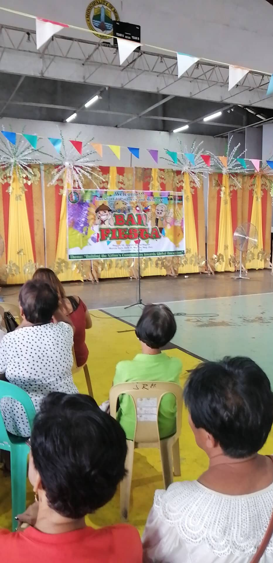 """The first-ever """"Ban Fiesta"""" held last December 24, at the Municipality of Murcia gym participated by members of BANDFI from all around Negros. 