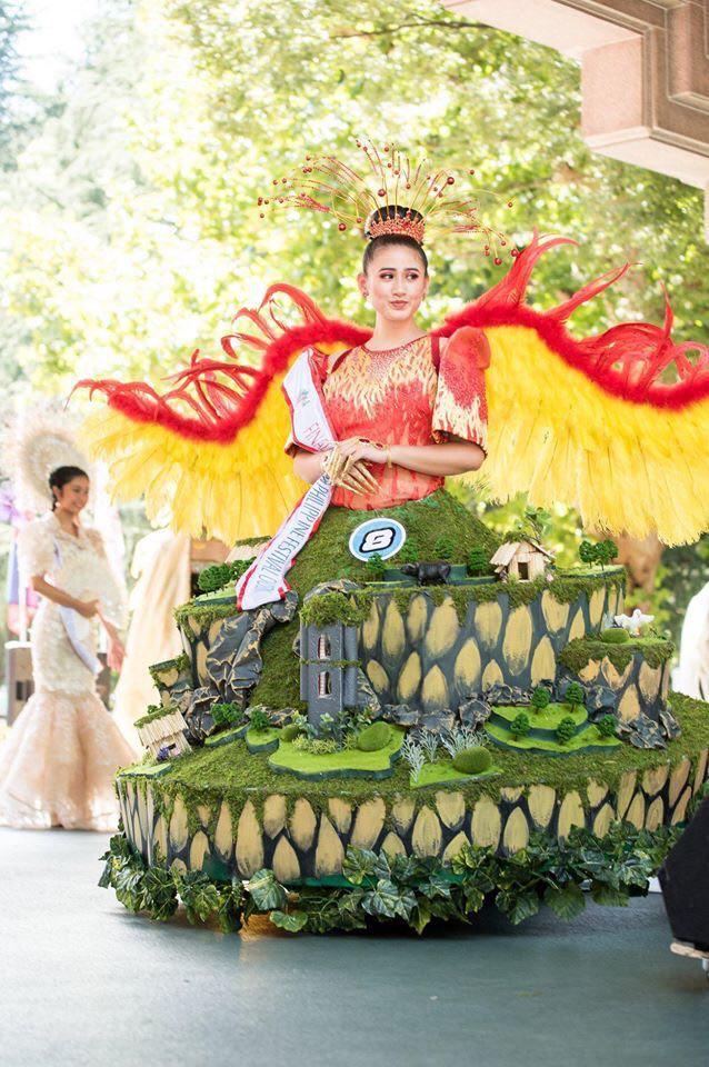 The design that won for Wram Guanzon the Festival Costume Designer in the Philippine Festival in Tokyo September 2018. The win inspired Guanzon to replicate the designs in an event his NPO sponsors in Cadiz.