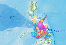 """BACOLOD CITY, Philippines - Typhoon Ursula has made landfall over Salcedo, Eastern Samar, bringing with it """"violent winds over the southern portion of Eastern Samar and is likely to affect Biliran, the southern portion of Samar, and northern portion of Leyte in the coming hours""""."""