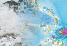 BACOLOD CITY, Philippines -- Fifteen provinces have been placed under storm surge warning, with water levels expected to rise up to two meters as typhoon Ursula sweeps through the country.