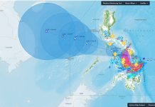 BACOLOD CITY, Philippines -- Ursula has now intensified into a typhoon, moving west at 20 kph, with maximum sustained winds of 120 kph near the center and gustiness of up to 150 kph. Its center spotted 95 km East of Guiuan, Eastern Samar.
