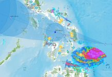 BACOLOD CITY, Philippines - The state weather bureau forecasts heavy rainfall over most parts of the Visayas as Ursula develops into a severe tropical storm as it moves closer to eastern Visayas.