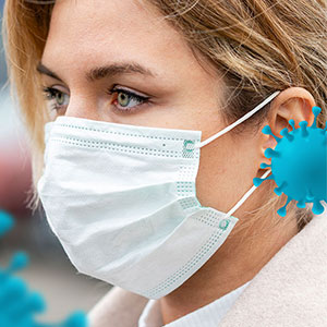 How to wear surgical mask: Blue or white side out?