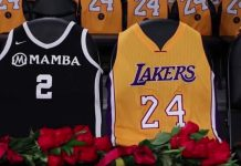 The wife of the late NBA legend Kobe Bryant, Vanessa, recently shared a photo of her daughter, Gianna's, jersey during a ceremony in Harbor Day School in Corona del mar.