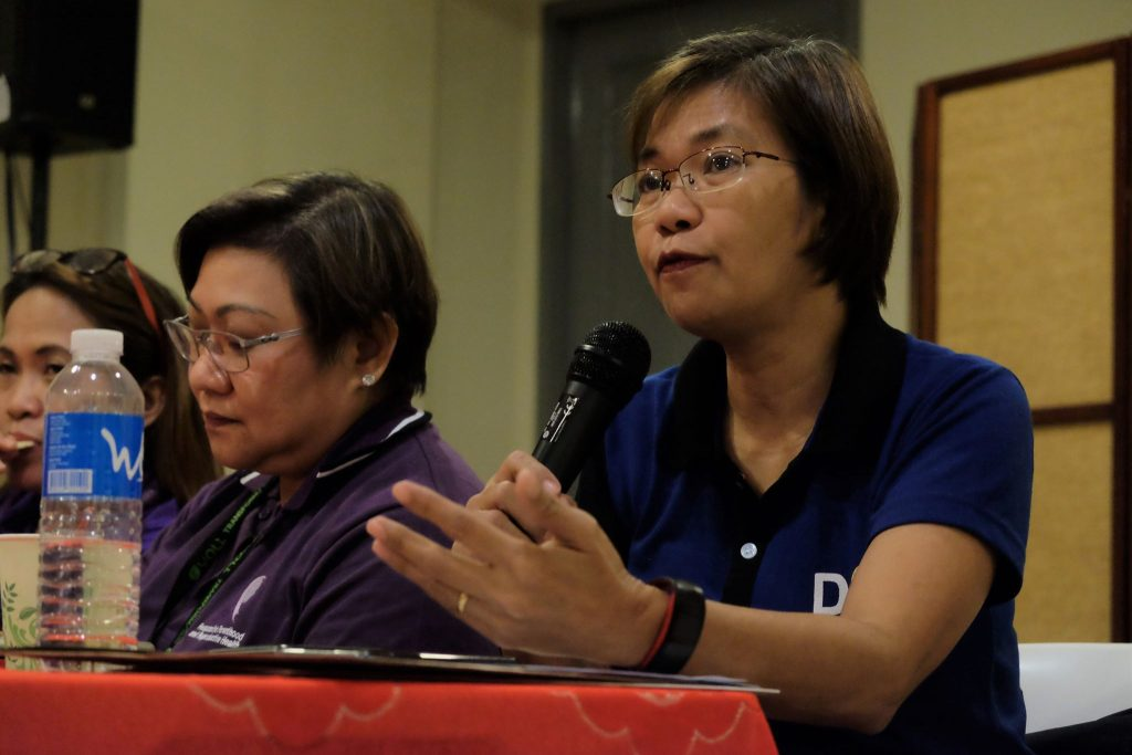 Dr. Grace Tan during a press conference at the Bacolod Government Center. | DNX file photo.