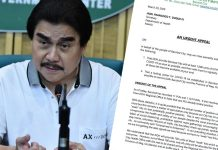 """These are what Bacolod City Mayor Evelio Leonardia sought from the Department of Health Secretary Francisco Duque III in his """"urgent appeal"""" dated 20 March, 2020."""
