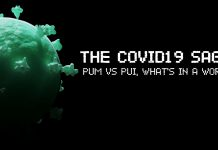 PUM vs PUI are acronyms at the height of the COVID-19 scare. PUM stands for Person Under Monitoring while PUI stands for Person Under Investigation.