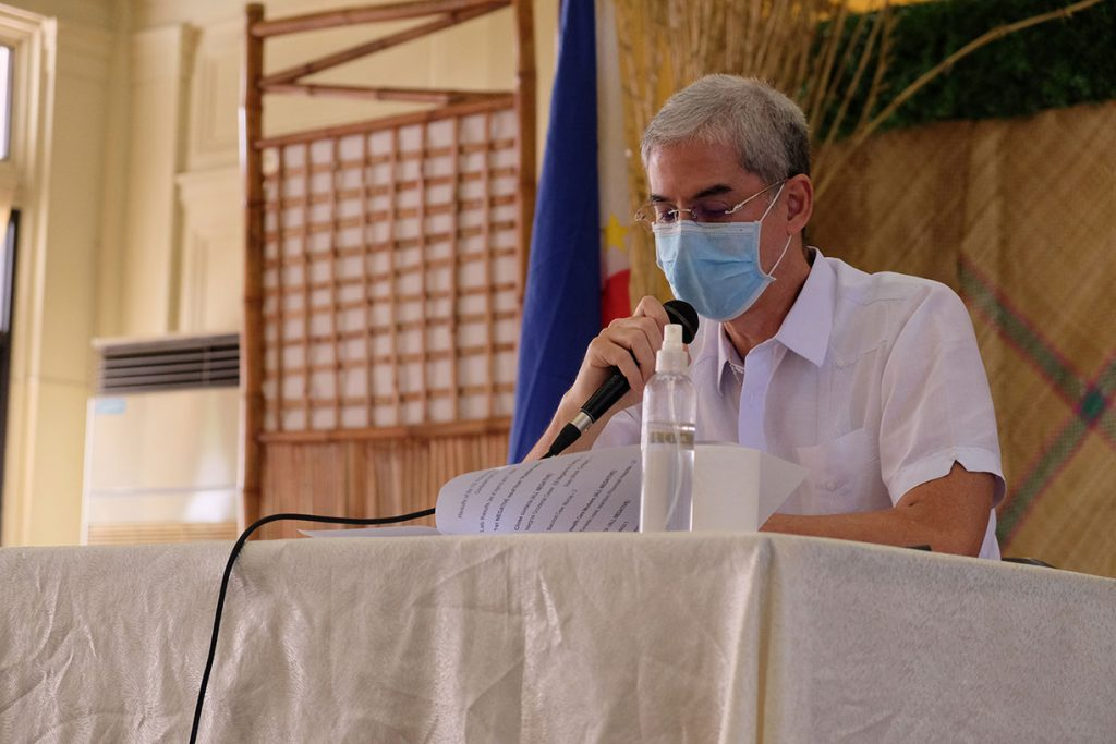 Negros Occidental Governor Bong Lacson.   DNX file photo.