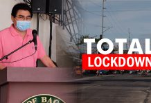 BACOLOD CITY, Negros Occidental, Philippines - The area where Patient 8 resided -- in the sub-village of Sabes, Villamonte -- was placed on total lockdown yesterday, Bacolod Mayor Evelio Leonardia said.
