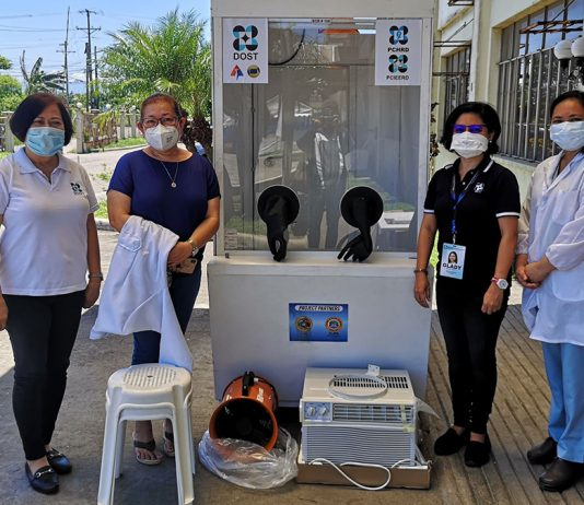 """Silay City, Negros Occidental -- A """"no-contact"""" COVID-19 Specimen Collection Booth (SCB) will be provided by the Department of Science and Technology (DOST) to fight against the COVID-19 pandemic."""