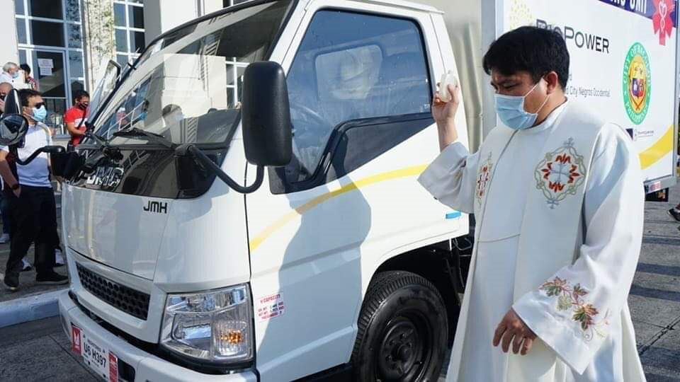 blessing of mobile swab