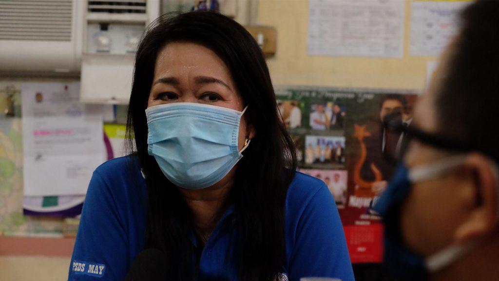 DEPED District Supervisor May Pasaporte Bautista.   Photo by Banjo C. Hinolan