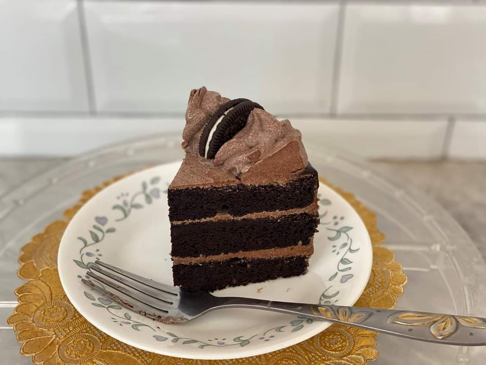 The Chocolate Oreo Cake, one of the best sellers of the OhMaih's. | Photo taken with permission from OhMaih's Cakes and Pastries