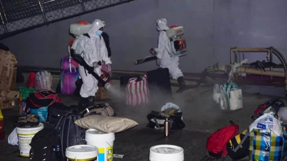 City facilitates quarantine of 52 LSIs 05