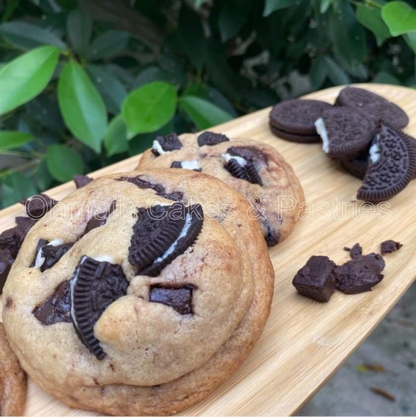 The 100-gram Cookie is a gut-busting confection that OhMaih's recently introduced. | Photo taken with permission from OhMaih's Cakes and Pastries